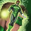 Green Lantern profile pinup - 11x17 colors by Jeff Balke